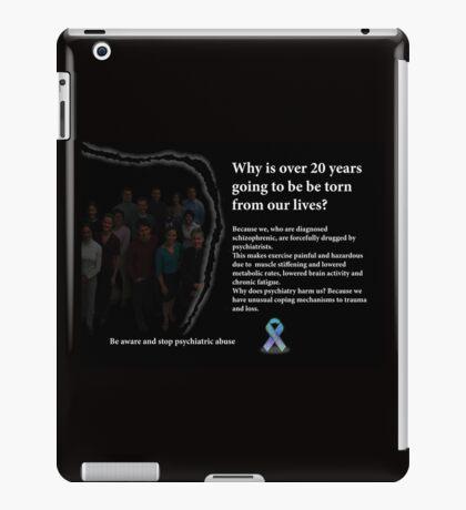 Schizophrenia awareness iPad Case/Skin