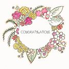 Congratulations - Greeting Card by Michelle Walker