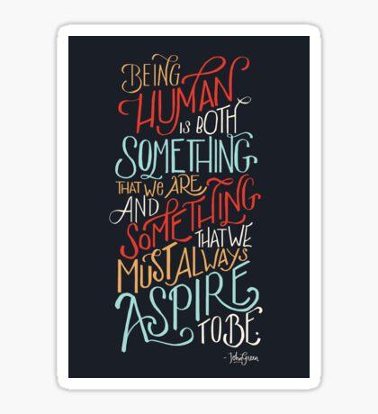 Being Human Sticker