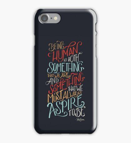 Being Human iPhone Case/Skin