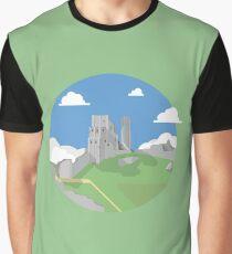 Corfe Castle Graphic T-Shirt