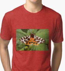 Garden Tiger Moth Photo Tri-blend T-Shirt