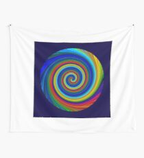 Spiral blur Wall Tapestry
