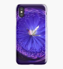 Fantasy Galls Orb in Blue iPhone Case