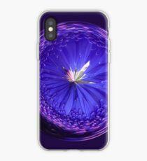 Fantasy Galls Orb in Blue iPhone Case