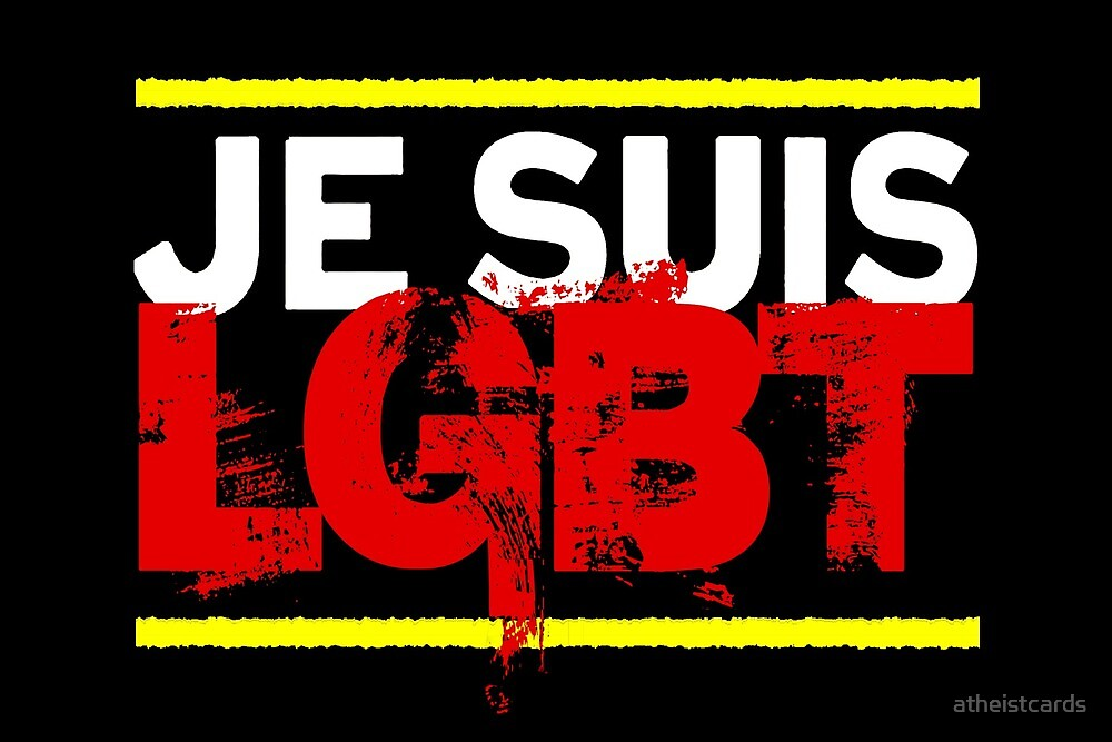 Je Suis LGBT by atheistcards