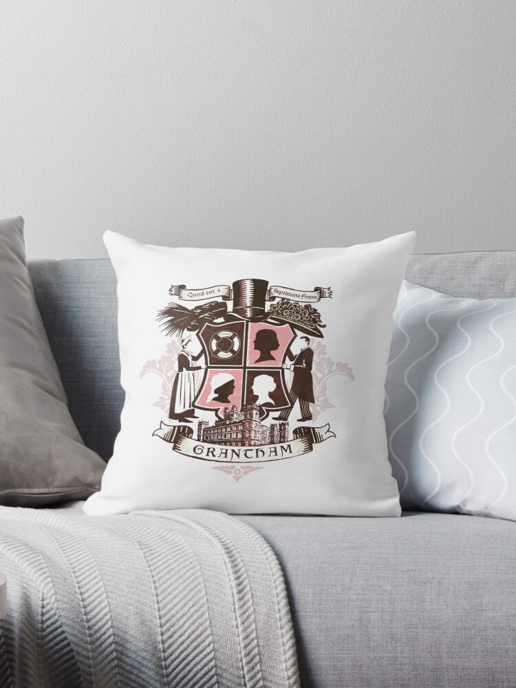 Grantham coat of arms (pink) by earlofgrantham