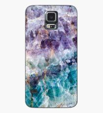 GREEN QUARTZ Hülle & Klebefolie für Samsung Galaxy