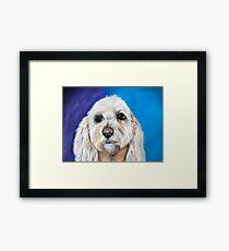 """Chewbacca"" the best fishing buddy.  Framed Print"
