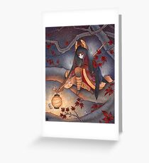 Lantern Light Greeting Card