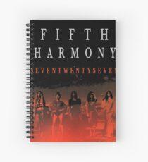 Cuaderno de espiral Fifth Harmony The 7/27 Tour 2016 HARTA3