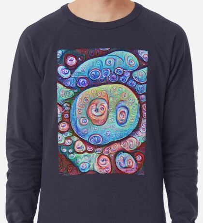 #DeepDream Ice Lightweight Sweatshirt