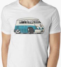 VW T1 Microbus cartoon turquoise T-Shirt