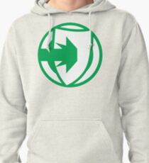 Fate Core: Defend (Green) Pullover Hoodie