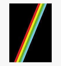 Speccy Lines Stripes Photographic Print