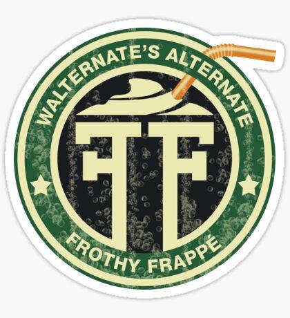 Walternate's Alternate Fringe Frappé Sticker