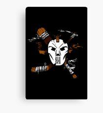Masked Chaos Canvas Print