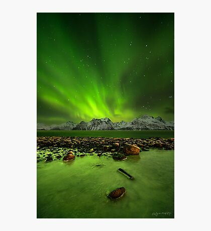 Midnight Magnetism Photographic Print