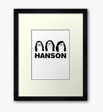 Hanson - The Slap Shot ones. Framed Print