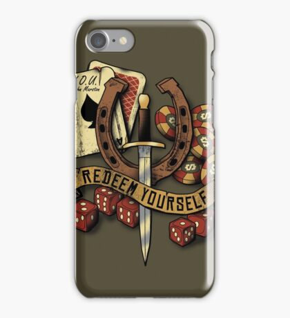 Redeem Yourself iPhone Case/Skin
