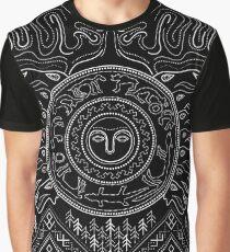 Tribal Komi sun ornament Graphic T-Shirt