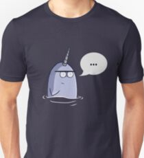 The Nothing Narwhal Unisex T-Shirt
