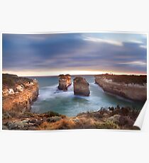 Loch Ard Gorge - Port Campbell, Victoria, Australia, Sunset Poster