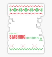 The Walking Dead - Michonne Ugly Christmas Sweater! Sticker