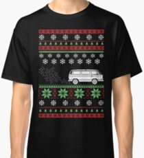 Vanagon Ugly Christmas Sweater Classic T-Shirt