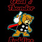 God of Thunder Buddies by Dumpsterwear