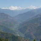 Himalayan backdrop by Braedene
