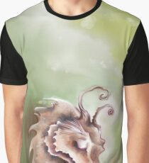 Green Dragon - Tranquility & Peace Graphic T-Shirt