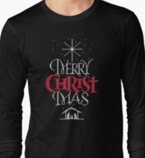 Granny knit me an ugly Christmas sweater - Religious Christian - Merry Christ Mas T-Shirt