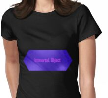 Immortal Object Womens Fitted T-Shirt