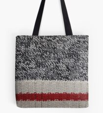 Lumberjack Knit Tote Bag