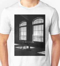 Table and Chair and The Windows Unisex T-Shirt