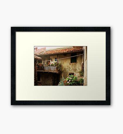 A Fisherman's home Framed Print