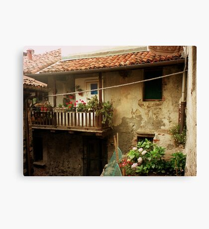 A Fisherman's home Canvas Print