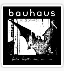 Bauhaus - Bat Wings - Bela Lugosi's Dead Sticker