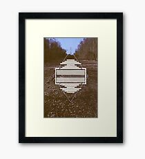 A picture of a pylon is boring 2 Framed Print