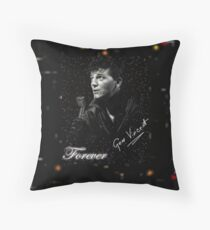 GENE VINCENT the one & only Throw Pillow