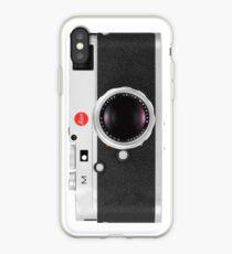 Vintage Leica M Kamera iPhone-Hülle & Cover