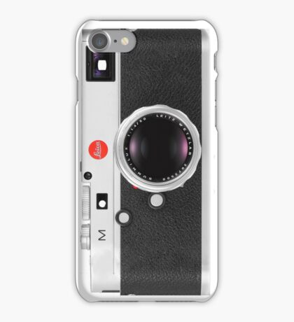 Vintage Leica M Camera iPhone Case/Skin