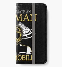 Never Underestimate An Old Man With A Snowmobile iPhone Wallet/Case/Skin