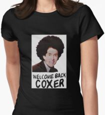 Welcome Back Cox Women's Fitted T-Shirt