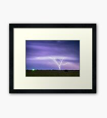 AMAZING Anvil Lightning Creepy Crawlers Framed Print