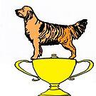 Trophy Cup Dog by Juhan Rodrik