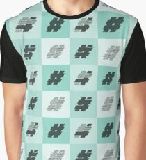 Hashtags Graphic T-Shirt