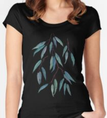 Eucalyptus leaves Women's Fitted Scoop T-Shirt
