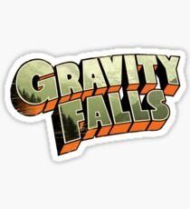 Gravity Falls logo Sticker